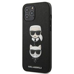 Original   KARL LAGERFELD KLHCP12LSAKICKCBK iPhone 12 Pro Max čierny