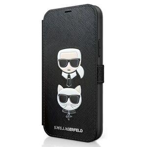 Original   KARL LAGERFELD KLFLBKP12MSAKICKCBK iPhone 12 Pro čierny