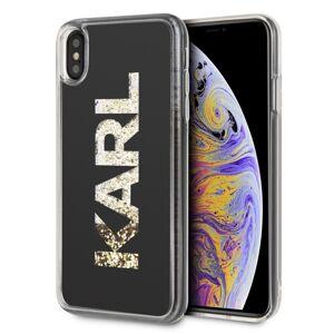 Original   KARL LAGERFELD KLHCI65KAGBK iPhone XS Max  priesvitný