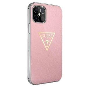 Original   GUESS GUHCP12MPCUMPTPI iPhone 12 / 12 Pro ružový