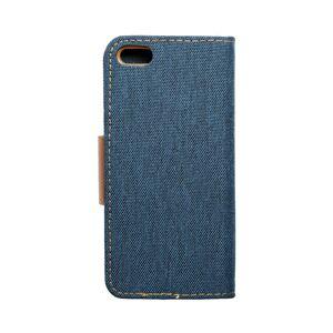 Canvas Book   iPhone 5/5S/SE  tmavomodrý modrý