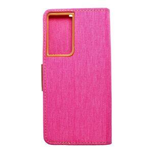 Canvas Book   Samsung S21 Ultra ružový