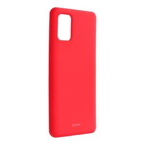 Roar Colorful Jelly Case -  Samsung Galaxy A71   hot ružový puruprový