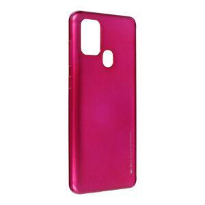 i-Jelly Case Mercury  Samsung Galaxy A21S ružový