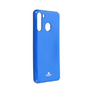 Jelly Case Mercury  Samsung Galaxy A21 modrý