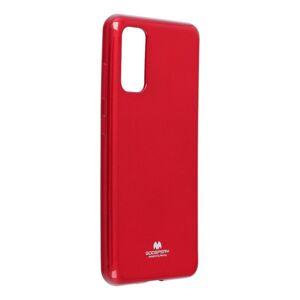 Jelly Case Mercury  Samsung Galaxy S20 červený