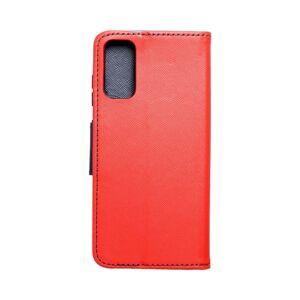 Fancy Book    Samsung S21 Plus červený/ tmavomodrý