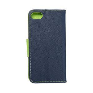 Fancy Book    iPhone 7 / 8 / SE 2020  tmavomodrý/žltý limetkový
