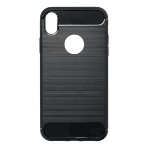 Forcell CARBON Case  iPhone XR  čierny