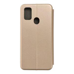 Book Forcell Elegance   Samsung M21   zlatý