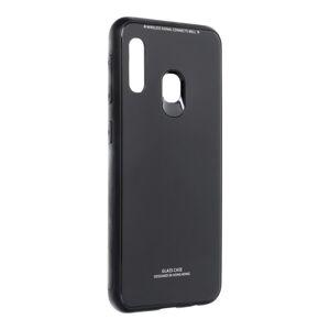 GLASS Case  Samsung Galaxy A20E čierny