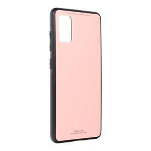 GLASS Case  Samsung Galaxy A41 ružový