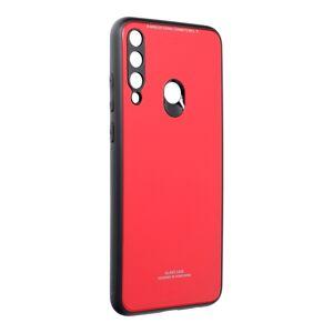 GLASS Case  Huawei Y6P červený