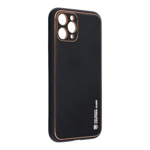 Forcell LEATHER Case  iPhone 11 Pro čierny