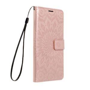 Forcell MEZZO Book   Samsung Galaxy S21 mandala rose  zlatý