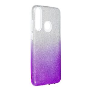Forcell SHINING Case  Huawei Y6P priesvitný/fialový
