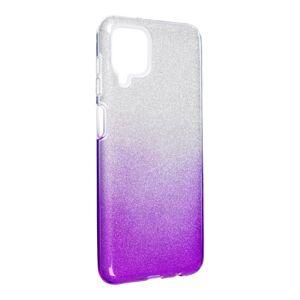Forcell SHINING Case  Samsung Galaxy A12 priesvitný/fialový