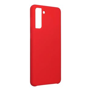 Forcell Silicone Case  Samsung Galaxy S21 Plus červený