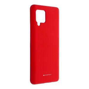 Mercury Silicone   Samsung A42 5 červený
