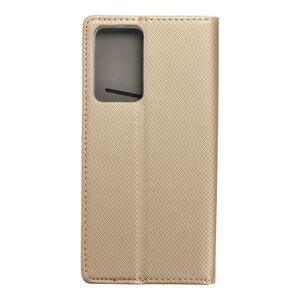 Smart Case Book   Samsung Note 20 Plus   zlatý