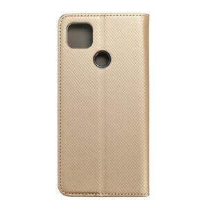 Smart Case Book   Xiaomi Redmi 9C   zlatý
