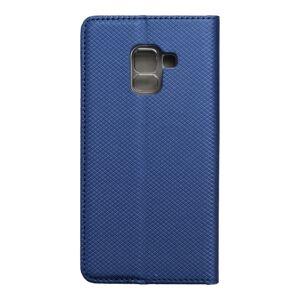 Smart Case Book   Samsung Galaxy A5 2018 / A8 2018  tmavomodrý modrý
