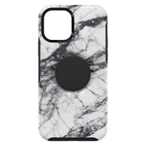 OtterBox Symmetry POP with PopSockets  iPhone 12 mini biely marble