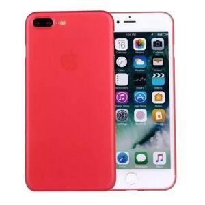 Ultratenký matný kryt iPhone 7 Plus/8 Plus - červený