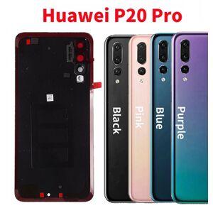 Huawei P20 Pro - Zadný kryt - ružový - so sklíčkom zadnej kamery