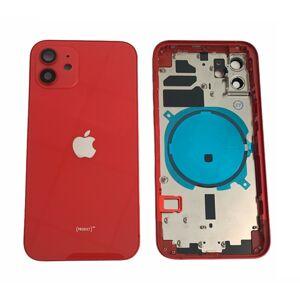 Apple iPhone 12 - Zadný housing (červený)