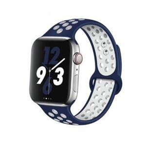 Remienok pre Apple Watch (42/44mm) Sport, blue-white