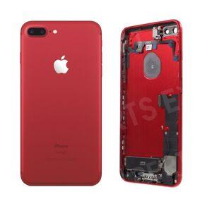 Apple Zadný kryt iPhone 7 Plus červený s malými inštalovanými dielmi