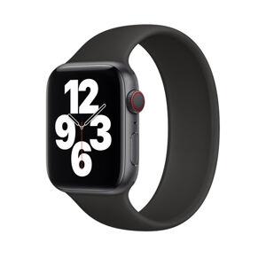 Remienok pre Apple Watch (38/40mm) Solo Loop, veľkosť L - čierny