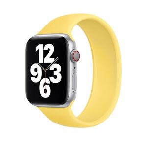 Remienok pre Apple Watch (38/40mm) Solo Loop, veľkosť L - žltý