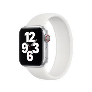 Remienok pre Apple Watch (42/44mm) Solo Loop, veľkosť L - biely