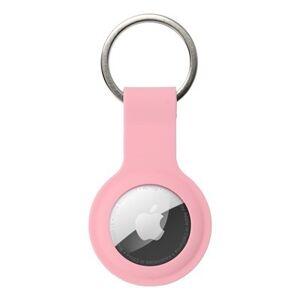 Silikónové púzdro na AirTag - ružové