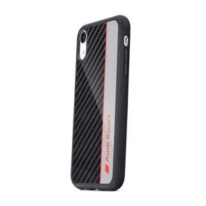 Original AUDI Carbon Fibre Case AUS-TPUPCS10E-R8/D1-GY Samsung S10e šedý