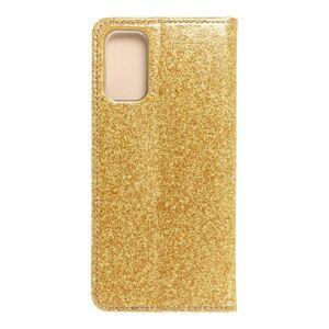Forcell SHINING Book   Xiaomi Redmi Note 10 5 / Poco M3 Pro / Poco M3 Pro 5  zlatý