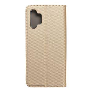Smart Case Book  Samsung A32 5  zlatý