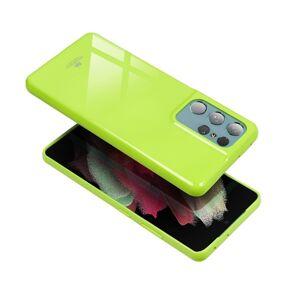 Jelly Mercury   Samsung A22 4G žltý limetkový