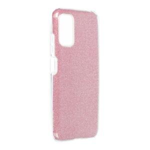 Forcell SHINING Case  Xiaomi Redmi Note 10 5 / Poco M3 Pro / Poco M3 Pro 5 ružový