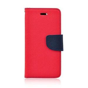 Fancy book pre Huawei P8 Lite červeno-modrý
