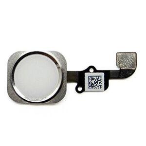 Apple iPhone 6, iPhone 6 Plus - Home button + home button flex (biely)